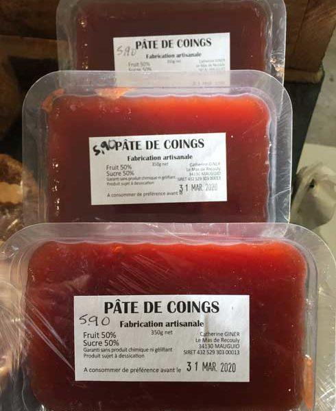 Le Potager - Epicerie Fine - Côté sucré - Confiture & pâte à tartiner