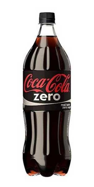 coca cola zero 1,25L