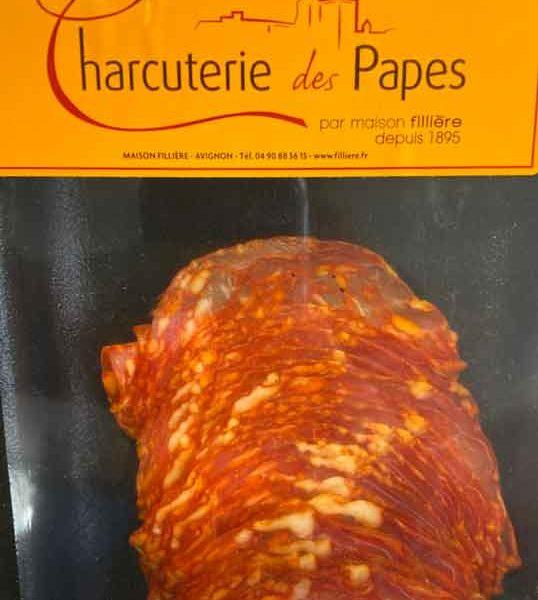 chorizo-chiffonnade-charcuterie-des-papes-potager-coudoux