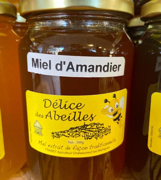 miel-amandier-500g-delices-des-abeilles-potager-coudoux