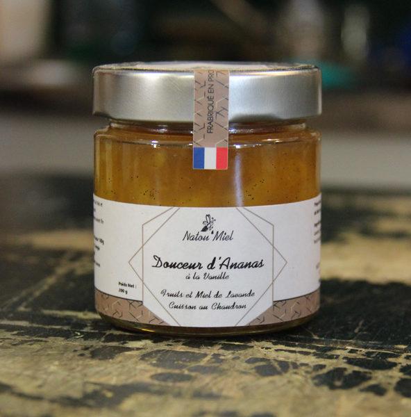 douceur de fruits ananas vanille natou miel