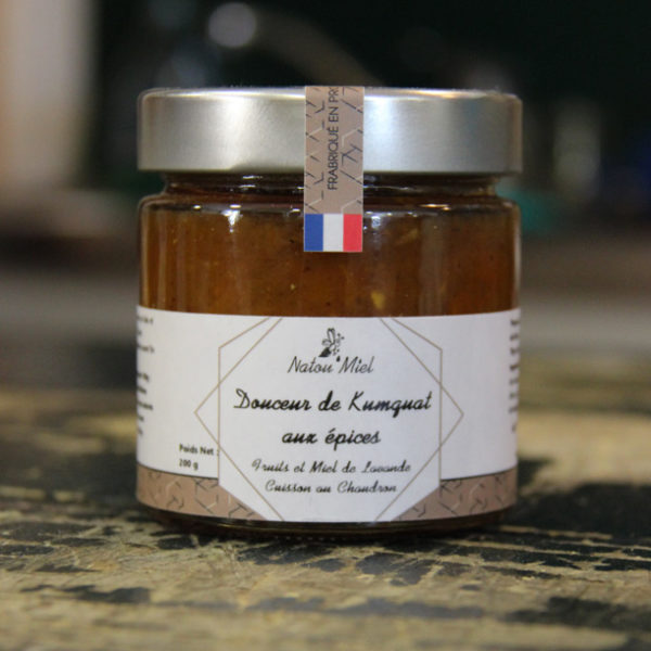 confiture kumguot aux epicesnatou miel