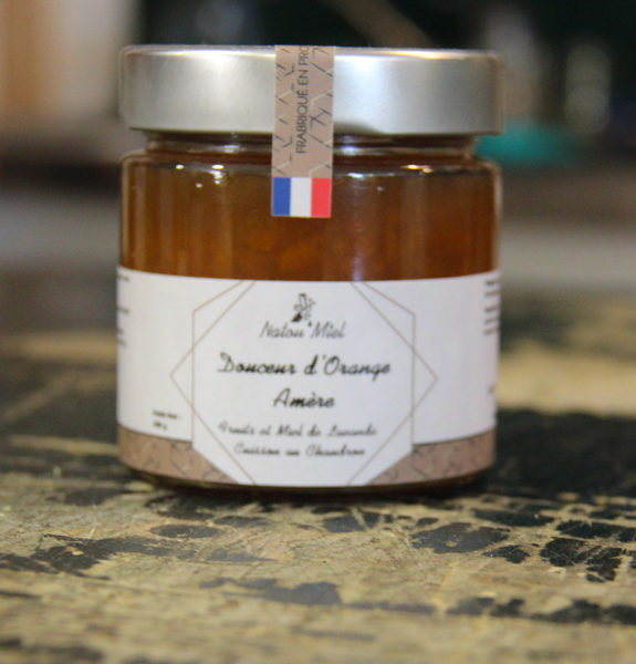 confiture orange amere natou miel