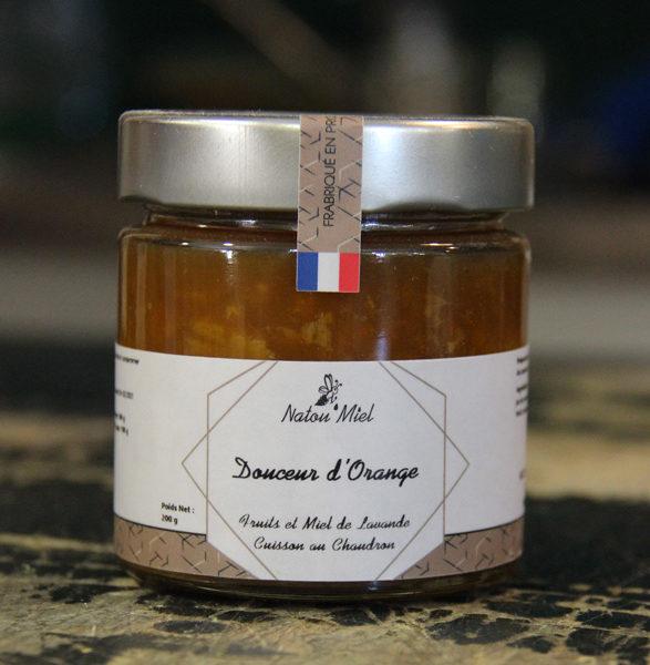 confiture orange natou miel