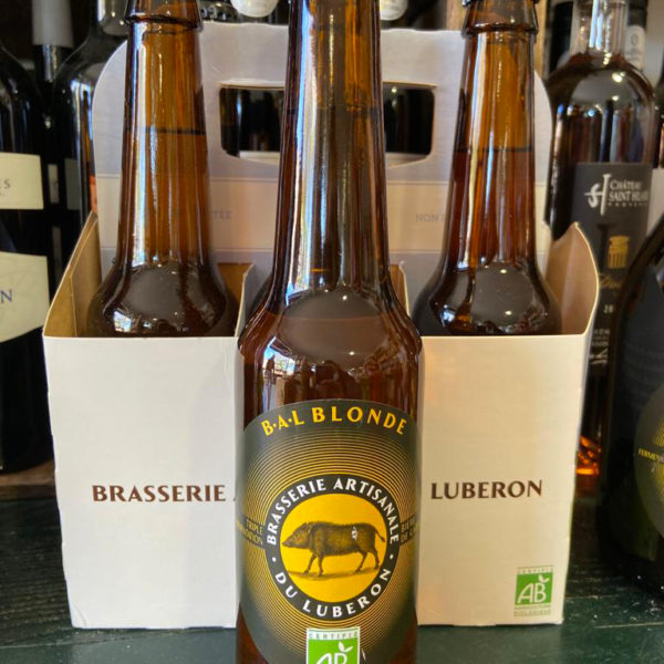bière artisanale la blonde B-A-L