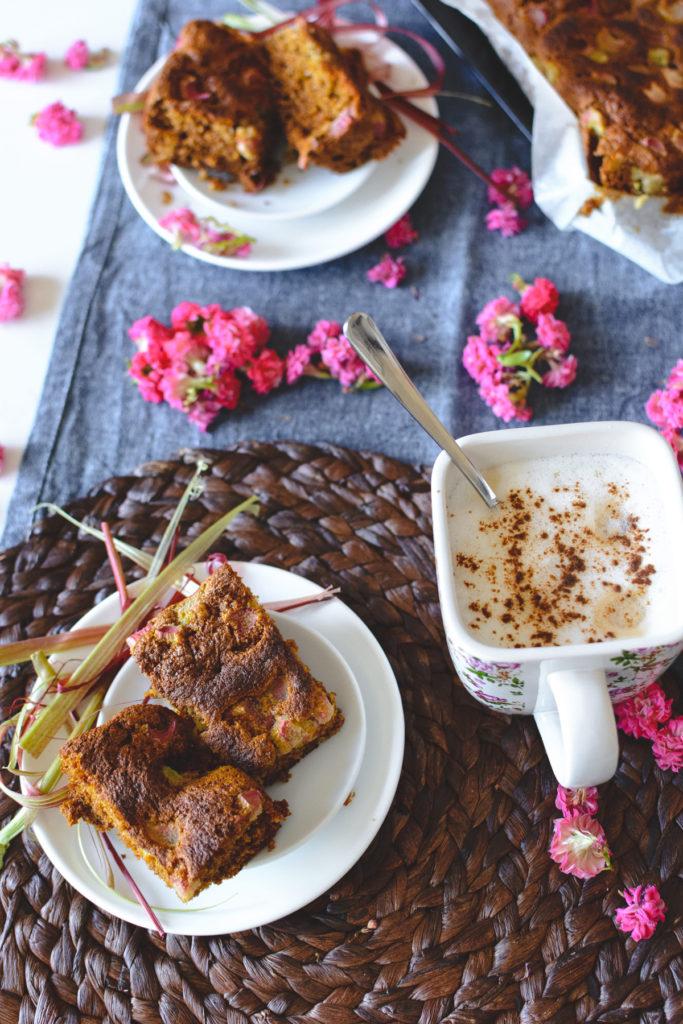 clafoutis rhubarbe banane fraise potage de coudoux